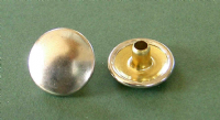 Nickel Plated Brass Button